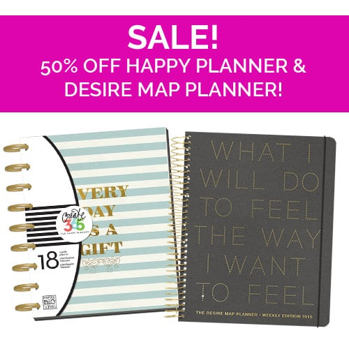 50 off coupon code covet crate planners