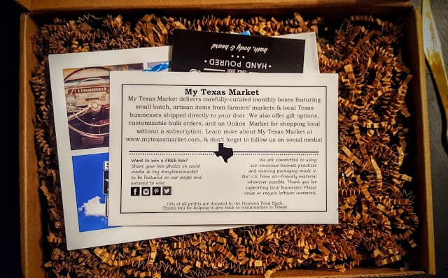 first glimpse inside the June my texas market