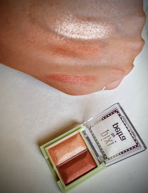 pixi by petra mineral duo swatch