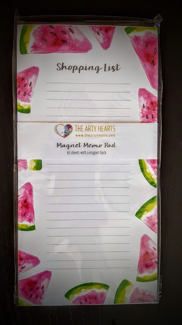 the arty hearts shopping list