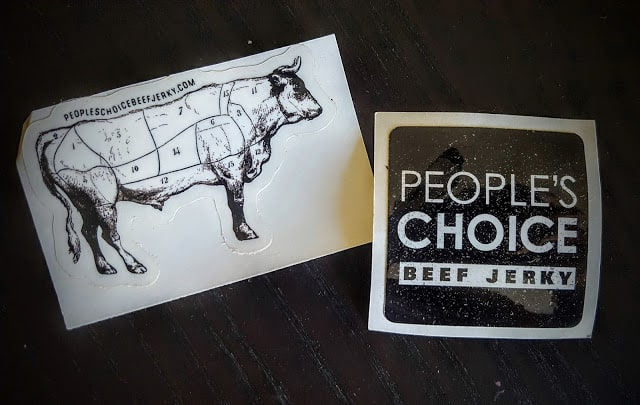 people's choice stickers