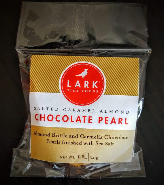 lark chocolate pearl cookies