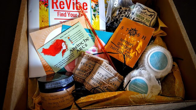 contents of june revibe subscription box