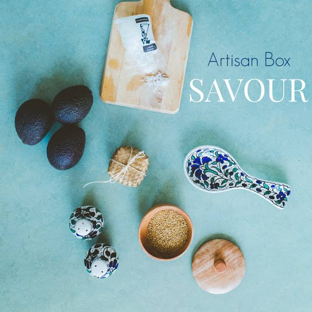 contents of globe in savour box