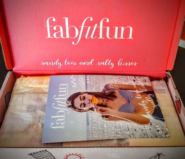 first glimpse inside the summer box