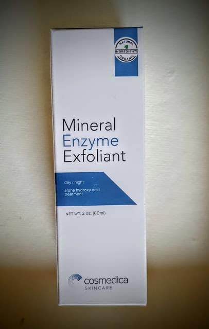 cosmedica mineral enzyme exfoliant