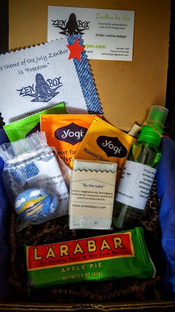 contents of the zen box by jen