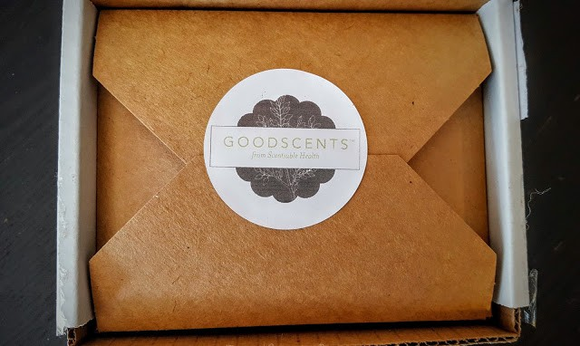 first glimpse inside goodscents box