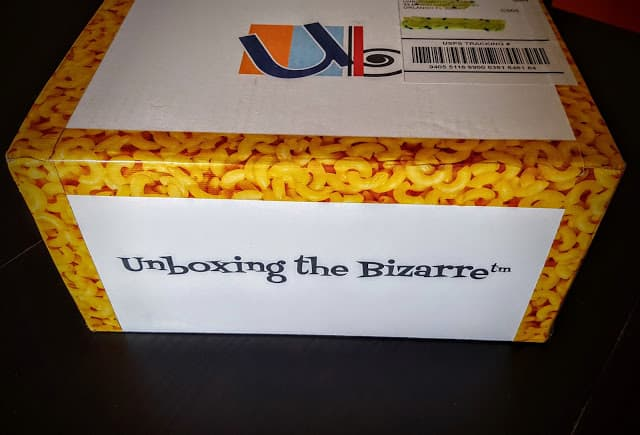 unboxing the bizarre subscription box