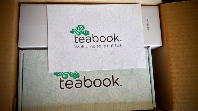 first glimpse inside teabook subscription box