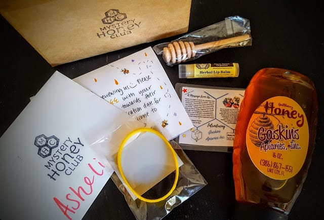contents of mystery honey club