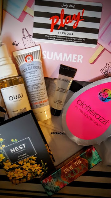 contents of july sephora play