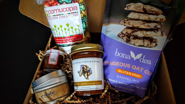 contents of my texas market subscription box
