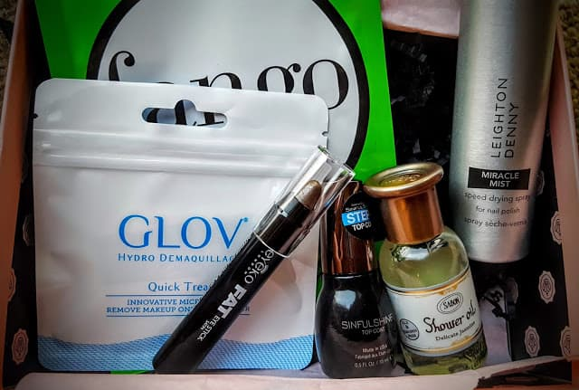 contents of july glossybox