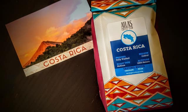 what's in the atlas coffee club box
