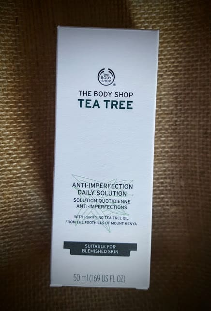 body shop anti-imperfection solution