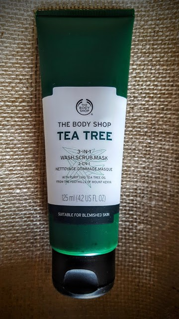 the body shop tea tree oil mask