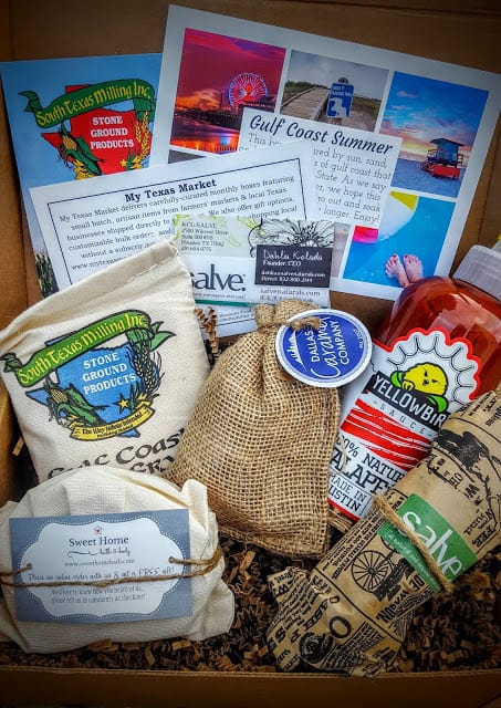 what's in the august my texas market box