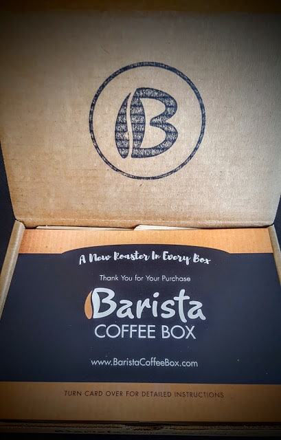 first look inside barista coffee subscription box