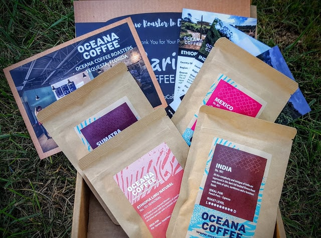 what's in the barista coffee box