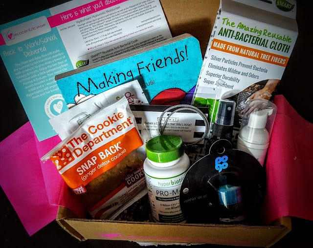 what's in the ecocentric mom box for september