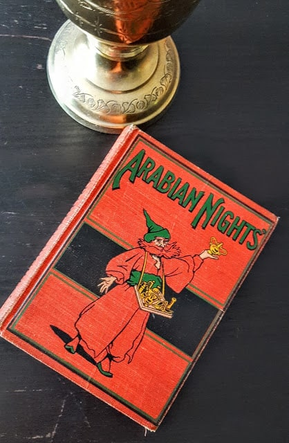 vintage arabian nights book