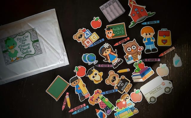 what's in the septmeber die cut club