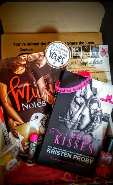 what's in the romance reveal book box september