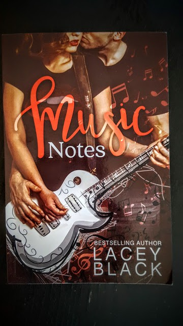 music notes by lacey black