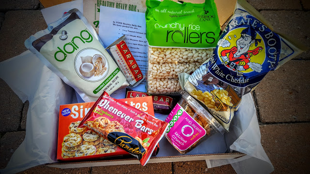 what's in the healthy belly september box