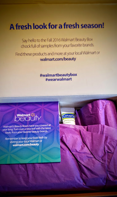 first look in the fall walmart beauty box