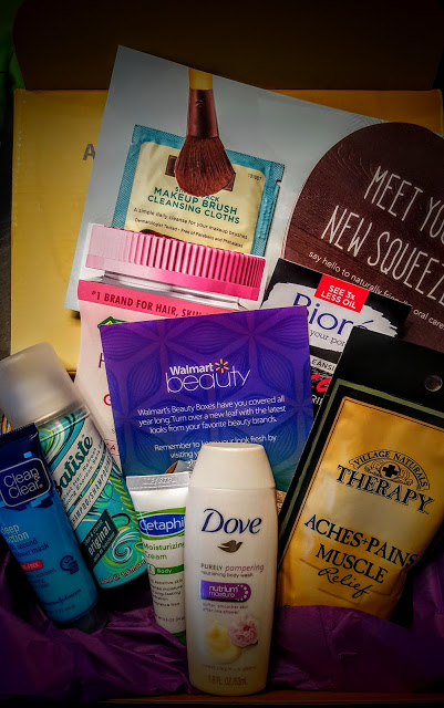 what's in the fall walmart beauty box