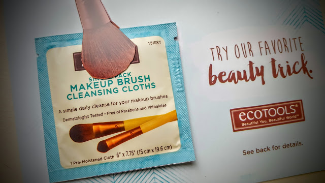 eco tools brush cleansing cloths