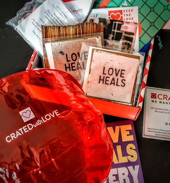 what's in the october crated with love box