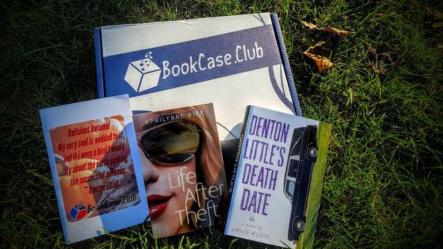 what's in the october bookcase.club box