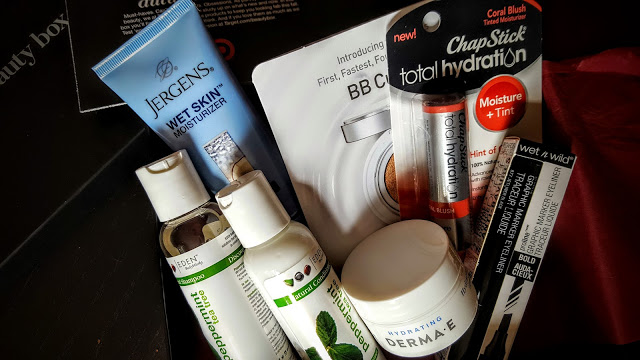what's in the october target beauty box