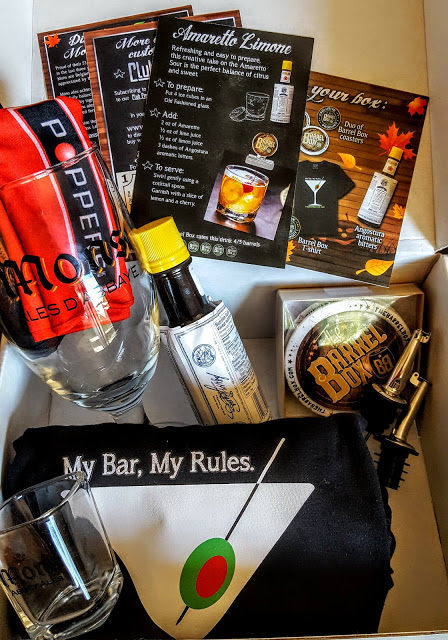 what's in the october barrel box