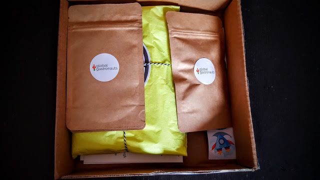 first look in the global gastronauts box