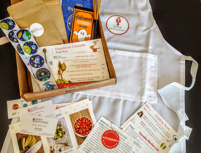 what's in the global gastronauts box