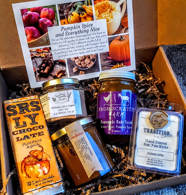 what's in the october my texas market box