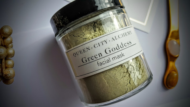 queen city alchemy face mask