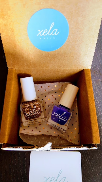 what's in the xela nails box