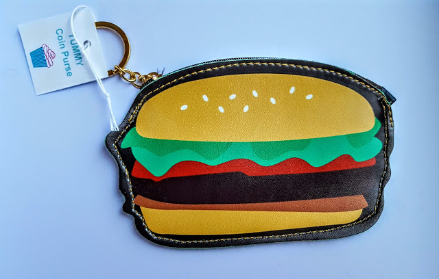 hamburger change purse
