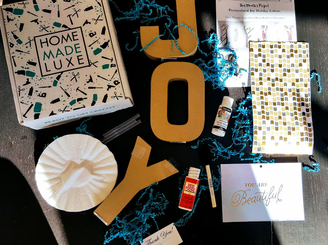 what' in the home made luxe box