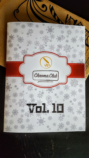 chroma club coloring book