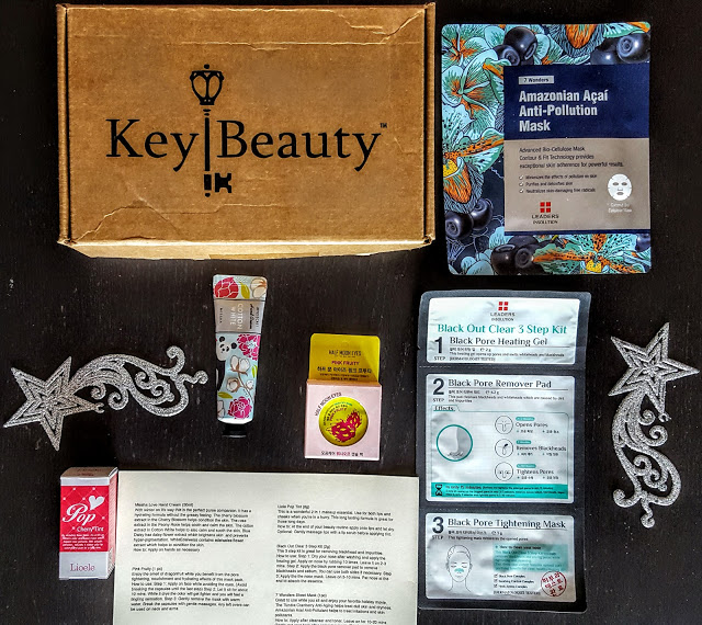 what's in the key beauty box