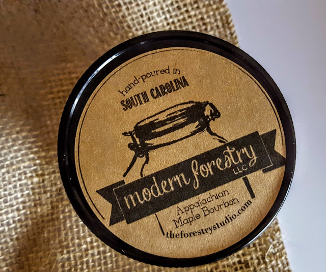 modern forestry candle