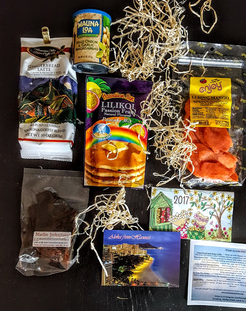 what's in the aloha snack pack