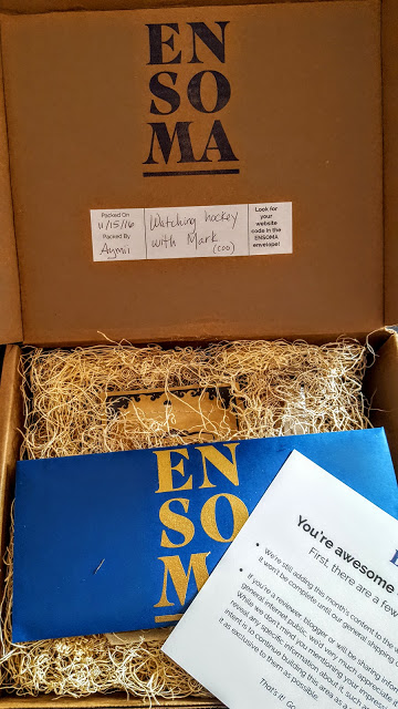 first look in the ensoma box