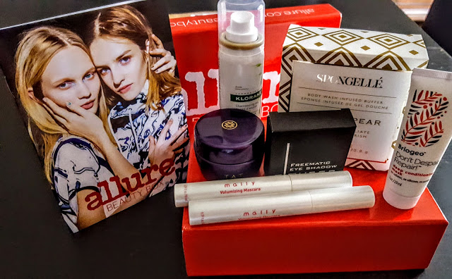 what's in the allure beauty box